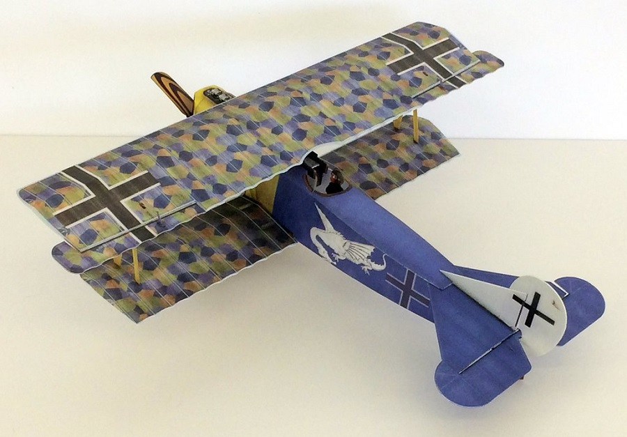Microaces Aero Fokker D.VII 'Jasta 19' Kit
