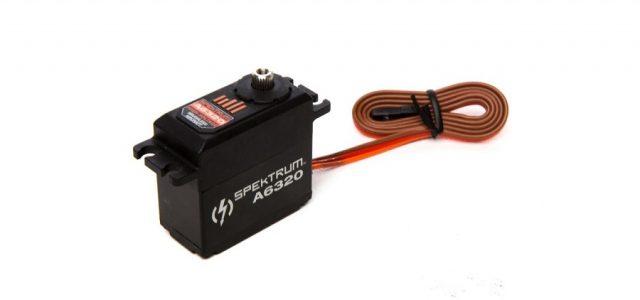 Spektrum A6320 Brushless HV Mid Torque Aluminum Servo