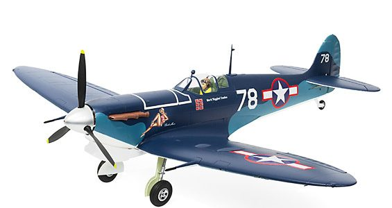Durafly Supermarine Seafire MkIIB 1100mm (43.3″) (PNF) Pacific Scheme [VIDEO]