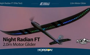 E-flite Night Radian FT 2.0m PNP & BNF Basic [VIDEO]