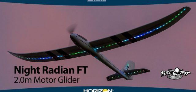 E-flite Night Radian FT 2.0m PNP & BNF Basic [VIDEO]