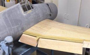 Fiberglassing Wings Made Easy