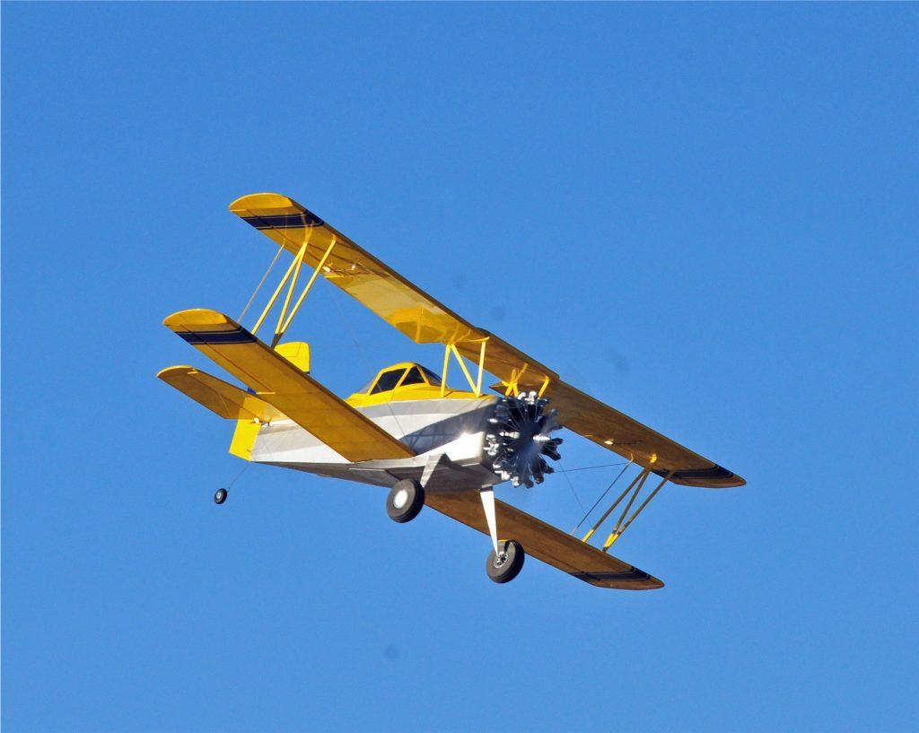 Grumman Ag-Cat Crop Duster Plans - Model Airplane News