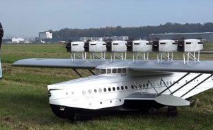 Gigantic 12-Engine Dornier Do X