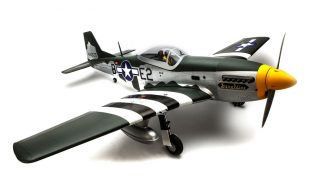 Hangar 9 P-51D Mustang 20cc ARF 69.5″ [VIDEO]