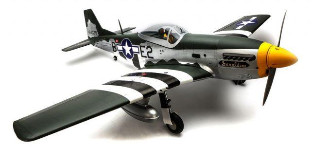 Hangar 9 P-51D Mustang 20cc ARF 69.5″ [VIDEO]