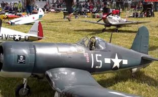 Giant Scale Warbird Airshow — The sights and sound of power