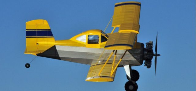 Grumman Ag-Cat Crop Duster Plans