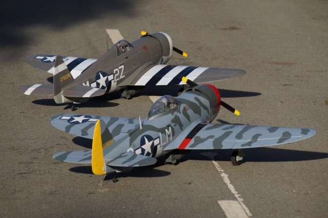 New P-47s from VQ Warbirds - Model Airplane News