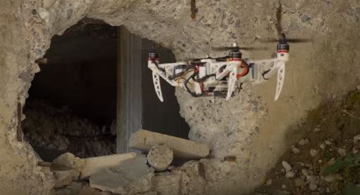 Go Anywhere Morphing Quad — This drone can change its size!
