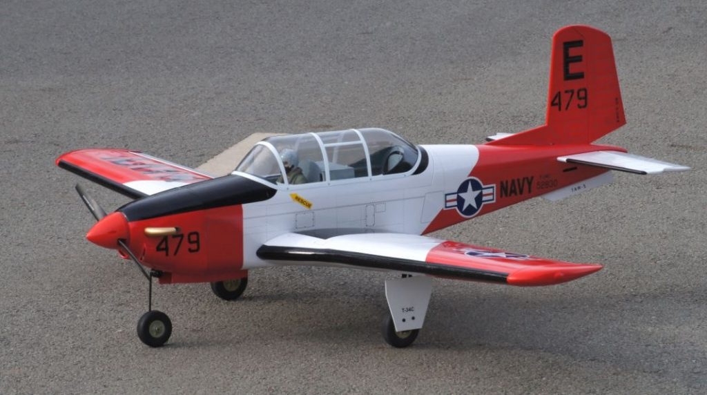 VQ Warbirds T-34C Turbo Mentor - Model Airplane News