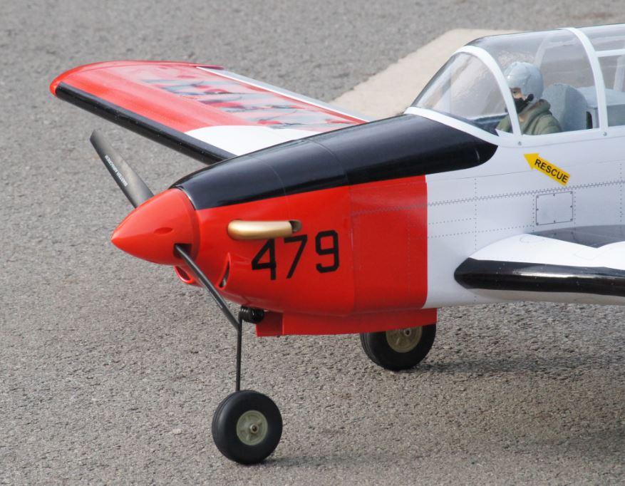 VQ Warbirds T-34C Turbo Mentor - Model Airplane News