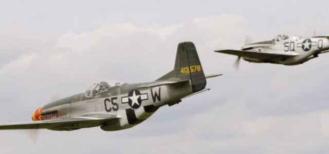Monday Mustangs – Fighter Formation