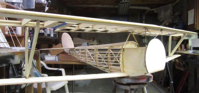 New for Premium Members — Giant Scale WW I Nieuport 24