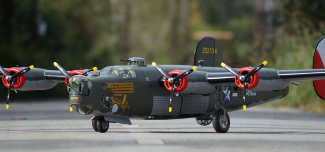 Giant Scale  B-24 Liberator — Heavy Bomber Witchcraft ARF!