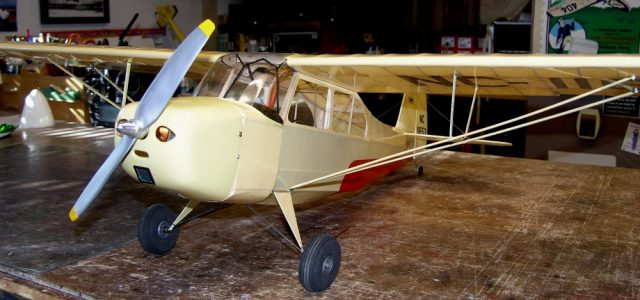 DIY Scale RC Aeronca Champ