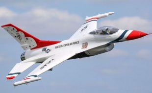 E-flite F-16 Thunderbird 70mm