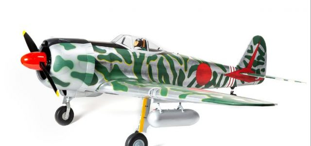 Hangar 9 1/5-scale 60cc Ki-43 Oscar