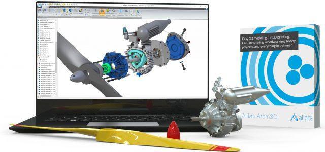 Alibre Atom3D – Easy 3D Modeling