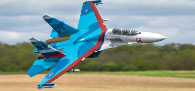 E-flite Su-30 Twin 70mm