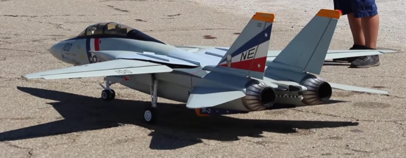 Rc F-14 Tomcat扫描翼喷气机-模型飞机新闻