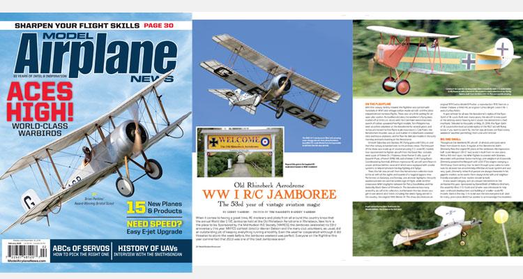 Model Airplane News - RC Airplane News | Radio Control Plane & Helicopter News, Tech Tips, Reviews