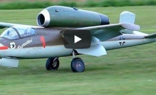 Turbine powered  He 162 Salamander