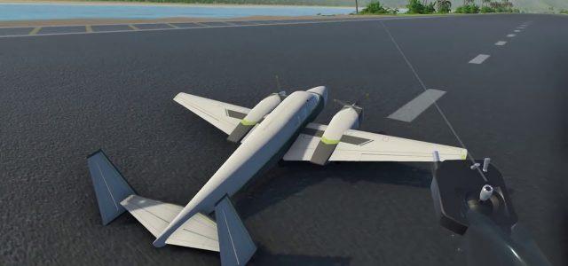 Balsa型飞行模拟器