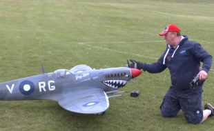Aussie Spitfire in 1/4 Scale