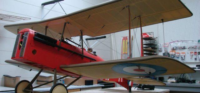 一个新款飞机S.E.5A童子军诞生计