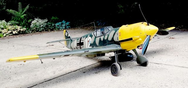 Scratch-Build 1/4-scale Bf-109