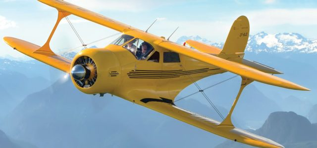 Restoring a Classic: A Canadian Staggerwing Gets a New Life