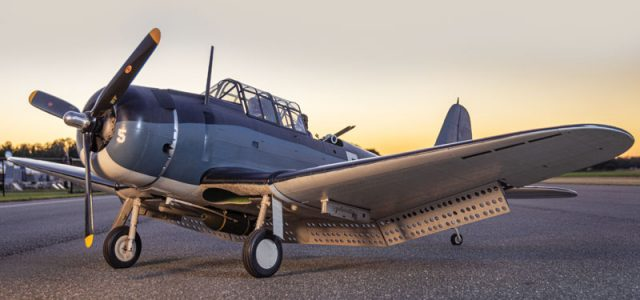 Douglas SBD Dauntless – Michael Fetyko's award winning  WW II dive bomber