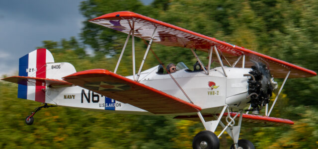 A Fleet Biplane with History
